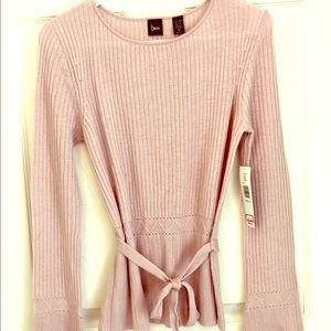 Be Mauve Sweater